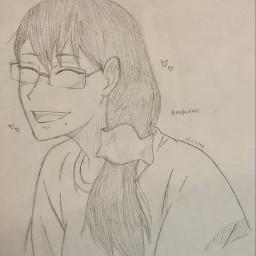 anime drawing doodle art traditionalart animeart sketch kiyokoshimizu kiyokohaikyuu shimizukiyoko haikyuu haikyu kiyokoisthemostprettythingontheplanet