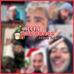 christmas icon icons christmasicons polarr