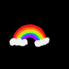 freetoedit rainbow cutedrawiings rainbows