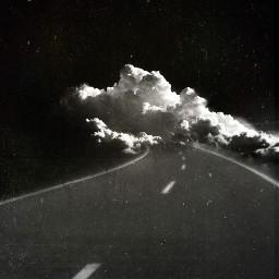 bw clouds farawaybelovedones