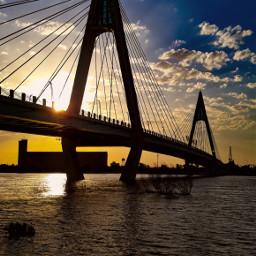 ahvaz cable sunset freetoedit