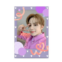 nct nct127 nct2020 deco card jungwoo pink purple 엔시티 엔시티127 정우 포카 freetoedit