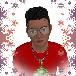 freetoedit christmas christal frame avakinlife avatar gradient