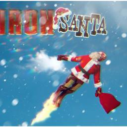 freetoedit santa remix mrlb2000 ironman ecintheclouds