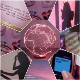 freetoedit aesthetic pink vibes drama