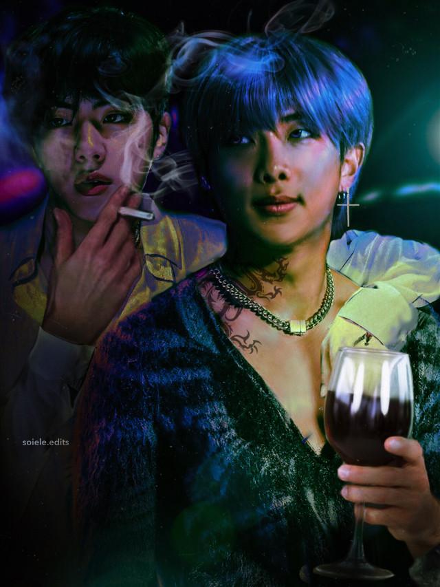 experimenting  #btsnamjoon #btsjin #bts #btsedit #kpop #kpopedit #dark #aesthetic #namjoon #jin #namjoonedit #jinedit