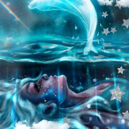 draw walle sea cloud picsart art freetoedit rcstarsandclouds starsandclouds