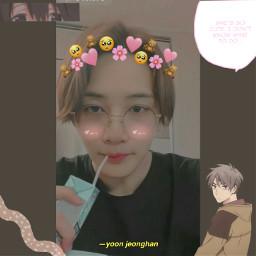 jeonghan yoonjeonghan seventeen jeonghancute freetoedit