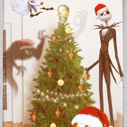 thenightmarebeforechristmas halloween christmas freetoedit ircdecorateyourdreamtree decorateyourdreamtree