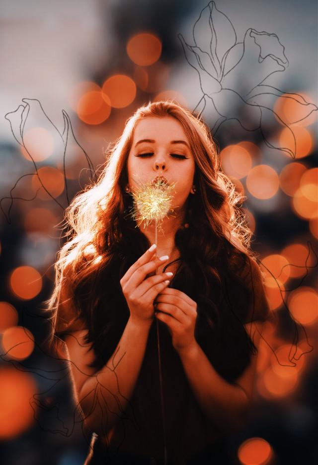 #light #flower #fiori #luci #newyear #nuovoanno #luci #freetoedit #srcnewyearssparks #newyearssparks