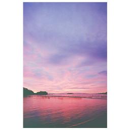 freetoedit sea sunset sky
