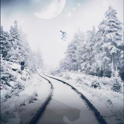 christmas santa snow miracle interesting freetoedit