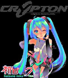 freetoedit hatsunemiku tda append logo hdr cryptonfuturemedia vocaloid