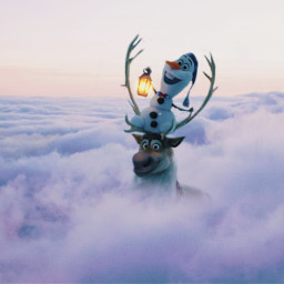 freetoedit olaf frozen clouds sky ecintheclouds