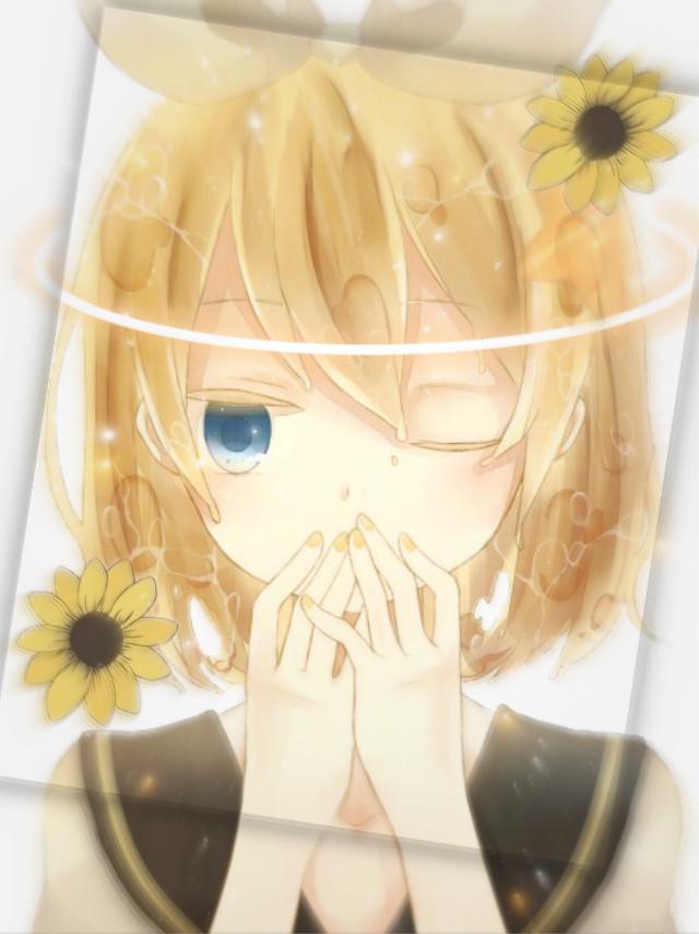 Rin! #Rin #Kagamine #rinkagamine #vocaloid