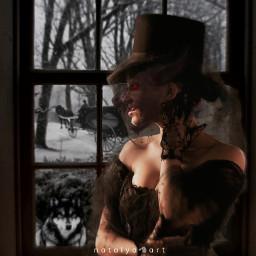 victorian werewolf freetoedit