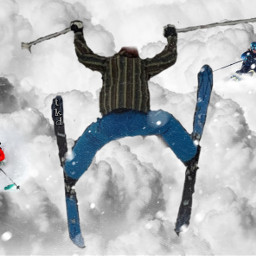 puffycloud remix challenge clouds snow ski skier stickers mask brushes myedit tkd freetoedit ecintheclouds intheclouds