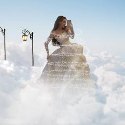 freetoedit clouds imagination fantasyart magic daydream ecintheclouds