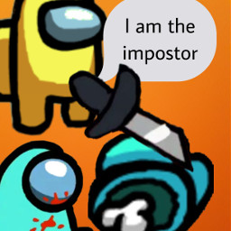 amonguscomic imposter sadkid😓 freetoedit sadkid