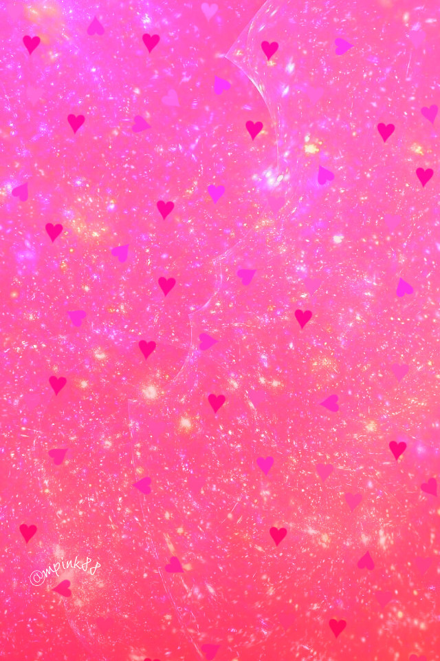 #freetoedit @mpink88 #glitter #sparkle #galaxy #hearts #love #pink #shimmer #bling #crystal #gradient #pastel #cute #girly #kawaii #art #pattern #overlay #background #wallpaper