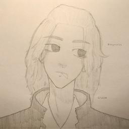 anime drawing doodle art traditionalart animeart sketch manjiro manjirosano sanomanjiro tokyorevengers