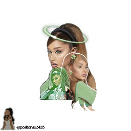 thanku arianagrande arianagrandeoutline freetoedit