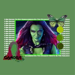 freetoedit gamora gaurdiansofthegalaxy marvel gotg thanos avengersendgame avengersinfinitywar green greenaesthetic aesthetic zoesaldana