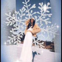 snowflakes winter freetoedit srcsilversnowflakes silversnowflakes