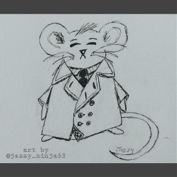 bringbackremixchat drawing mousedrawing mouse mouseinacoat art animals animalart animaldrawing mice sketch