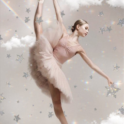 cloudsandstars dance ballet aesthetic freetoedit