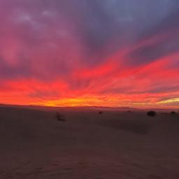 sunset sanddunes glamis