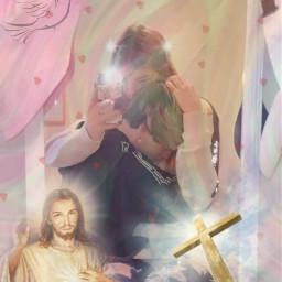 cashbaker katemarie jesus freetoedit