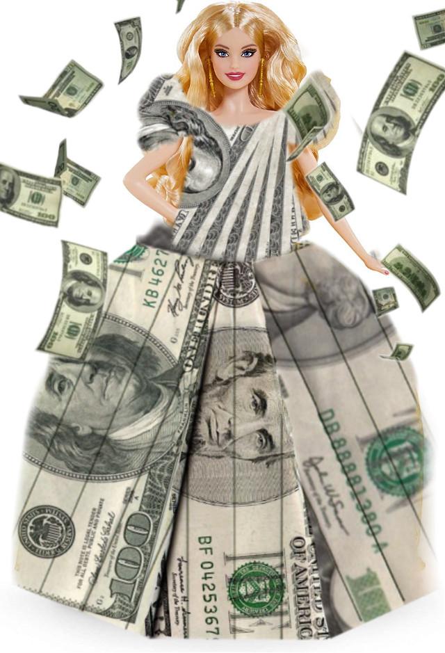 #barbie #money #dress #periodtttttttt