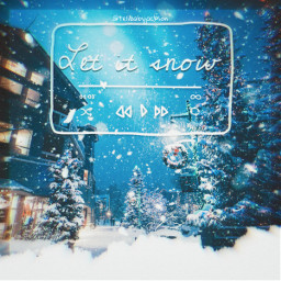 letitsnow holidays christmas song music canciones navidad freetoedit unsplash rcletitsnow