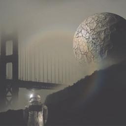 madewithpicsart planets gloomy surreal fantasy picsart scifi