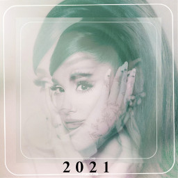 arianagrande 2021 positionsalbum clouds white freetoedit