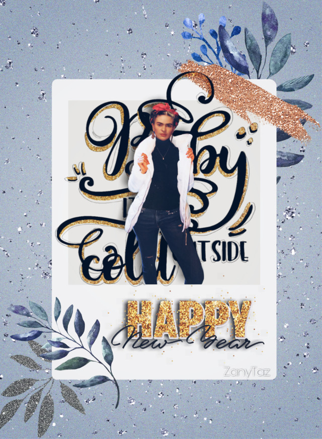 #babyitscoldoutside #fridakahlo #happynewyear #modernstyle #frida #swag #swagart  #happynewyear2021 #myedit #unibrow_queen #freetoedit