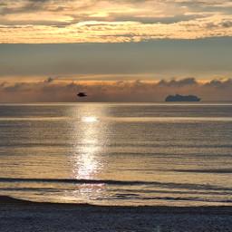 landscape sea beach sky