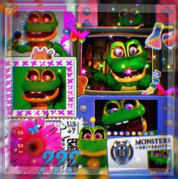 fivenightsatfreddys fnaf happyfrogfnaf happyfrog happy frog overlayedit bling aesthetic overlays overlay aestheticedit aesthetics overlaygreen greenaesthetic freetoedit