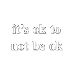 quote quotes beok itsok pinterest pinterestquote text sticker stickerquote ok mentalhealth selfcare moreselflove freetoedit