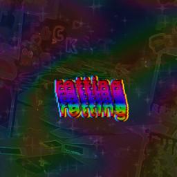 glitch glitchcore rainbow rot rotting chaoscore weirdcore kidcore weird chaos aesthetic freetoedit