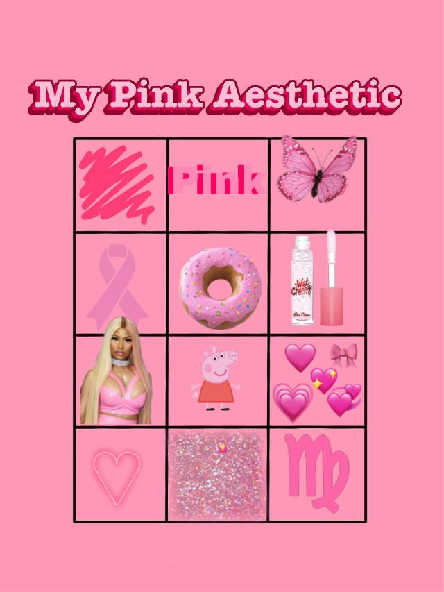 #mypinkaesthetic #chart #boxes #challenge #color #aesthetic #nickiminaj