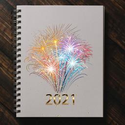 challenge journal beautiful 2021 foryou fireworks happynewyear staysafe freetoedit ircdesignanotebook designanotebook
