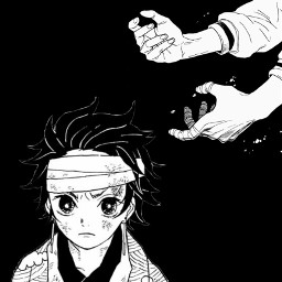 tanjiro demonslayer demon freetoedit