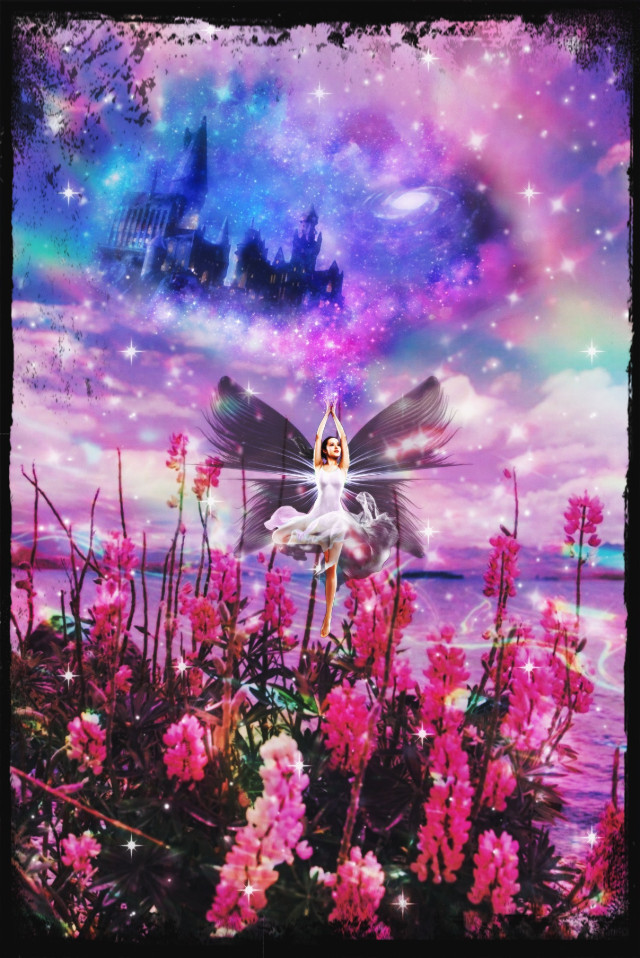 #edit  #fcmybesteditsof2020 #mybesteditsof2020 #pink #colorful #fairy #fairycore #magic #fantasy #shiny #glitter #nature #surrealism #dreamy #dream #spring