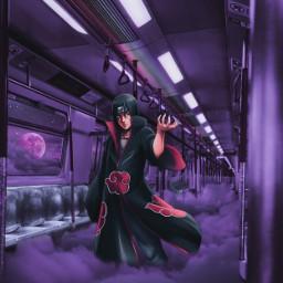 itachiuchiha itachiedit anime animeedit animeedits animeeditor animeediting aesthetic moonlight purpleaestheticedit editbyme animexreality freetoedit