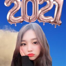 happy2021 2021 latepost koreangirl cute cutekorean cutekoreangirl freetoedit
