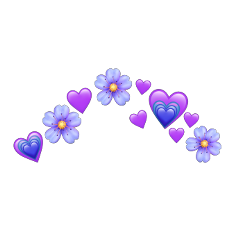 heart emoji coracao emojiiphone freetoedit remixed remix remixit star estrela crown heartcrown flor flower flowercrown rosa bloom emojis flores