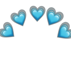 heart emoji coracao emojiiphone freetoedit remixed remix remixit star estrela crown heartcrown azul blue heartblue coracaoazul emojibackground emojicrown emojistickers emojichallenge