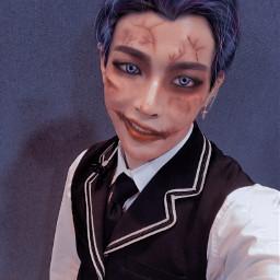 fluffy ateez kpop manips ateezhongjoong hongjoong manipulationedit halloween freetoedit